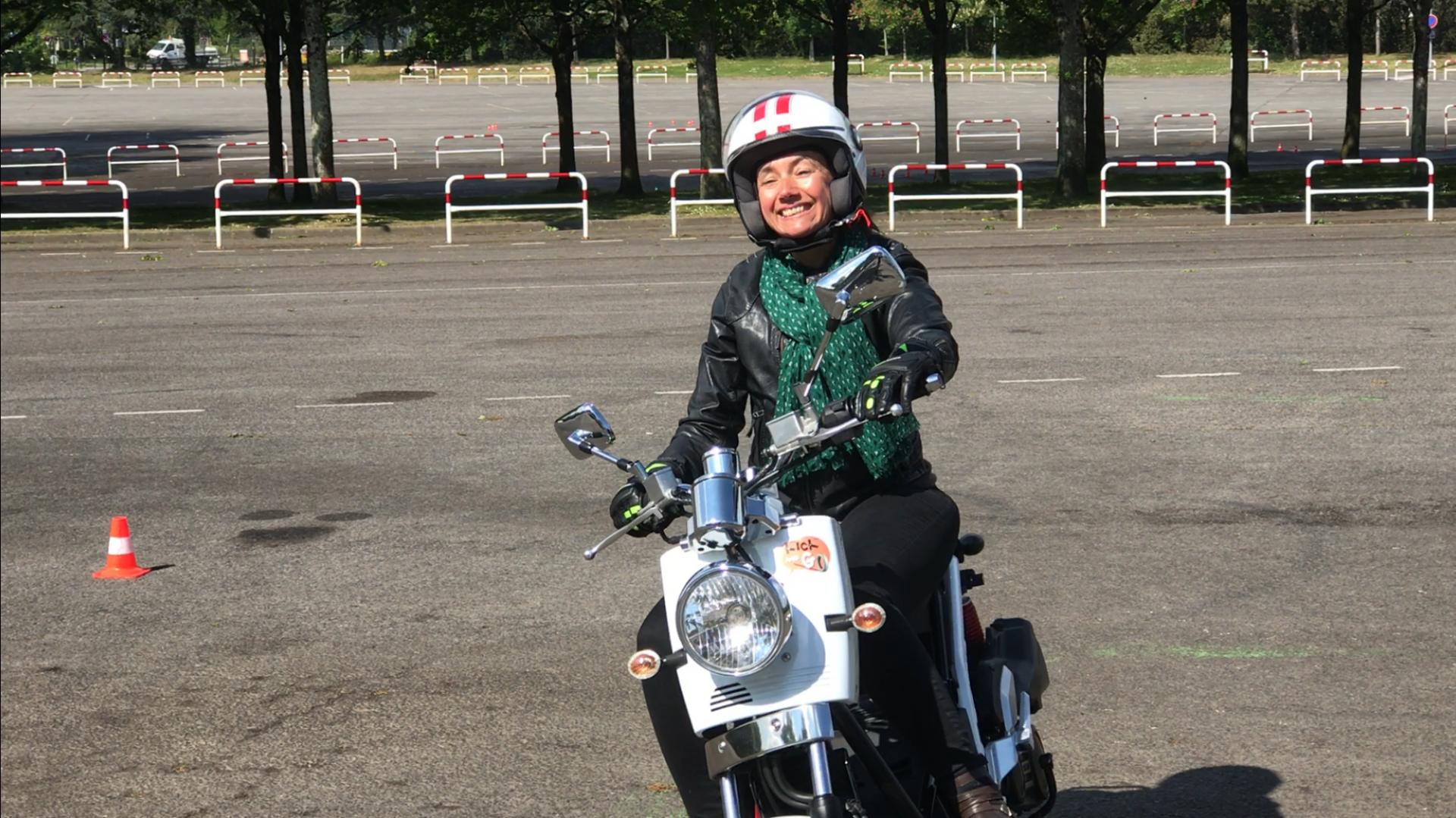 moto école kick and go